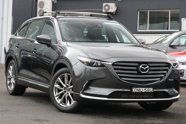Used Mazda CX-9 TC GT SKYACTIV-Drive Brookvale, 2017 Mazda CX-9 TC GT SKYACTIV-Drive Graphite 6 Speed Sports Automatic Wagon