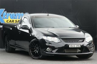 2010 Ford Falcon FG XR6 Ute Super Cab Turbo Black 6 Speed Sports Automatic Utility.