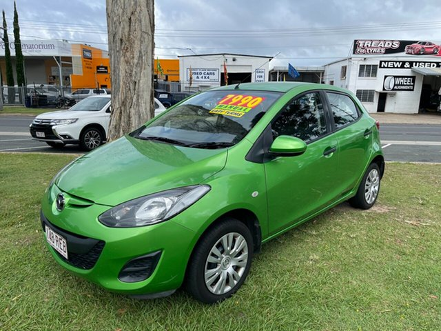 Used Mazda 2 DE10Y1 MY10 Neo Clontarf, 2010 Mazda 2 DE10Y1 MY10 Neo Green 5 Speed Manual Hatchback