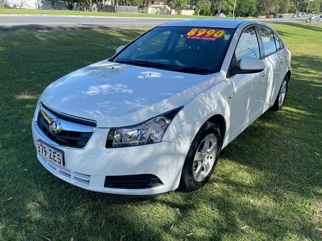 Used Holden Cruze JG CD Clontarf, 2010 Holden Cruze JG CD White 6 Speed Sports Automatic Sedan