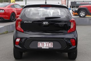 2018 Kia Picanto JA MY19 AO Edition Black 5 Speed Manual Hatchback