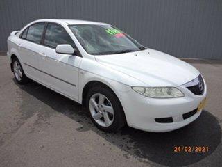 2004 Mazda 6 GG Classic White 5 Speed Manual Sedan.