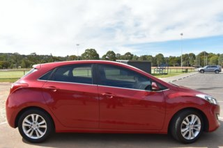 2013 Hyundai i30 GD Elite Red 6 Speed Manual Hatchback.