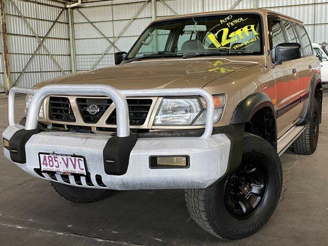 Used Nissan Patrol GU ST Rocklea, 1998 Nissan Patrol GU ST Gold 4 Speed Automatic Wagon