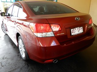 2012 Subaru Liberty MY12 2.5I Red Continuous Variable Sedan