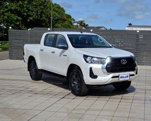 Toyota Hilux Mid Spec White Pearl.