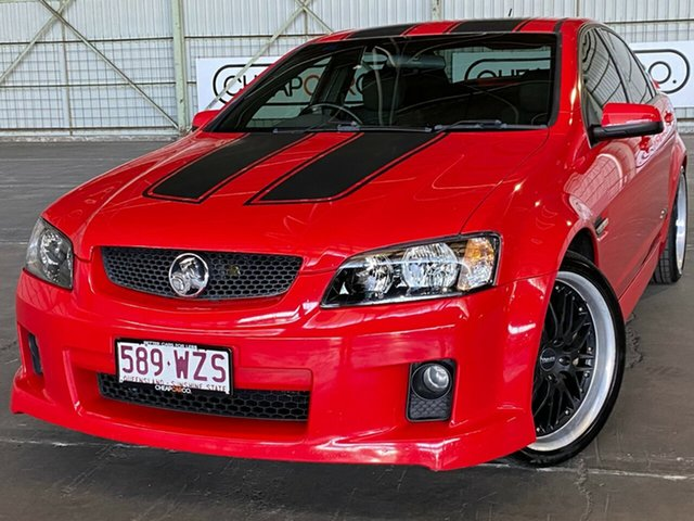 Used Holden Commodore VE MY09 SS Rocklea, 2008 Holden Commodore VE MY09 SS Red 6 Speed Manual Sedan