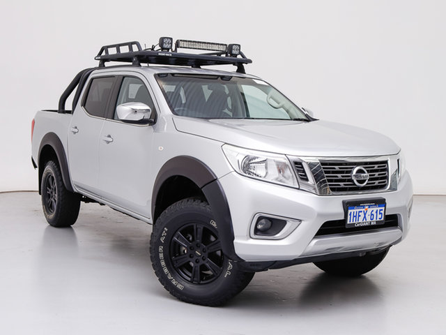 Used Nissan Navara NP300 D23 RX (4x4), 2016 Nissan Navara NP300 D23 RX (4x4) Silver 6 Speed Manual Double Cab Chassis
