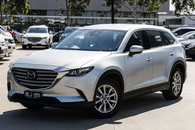 Used Mazda CX-9 TC Touring SKYACTIV-Drive i-ACTIV AWD Narre Warren, 2019 Mazda CX-9 TC Touring SKYACTIV-Drive i-ACTIV AWD Silver 6 Speed Sports Automatic Wagon