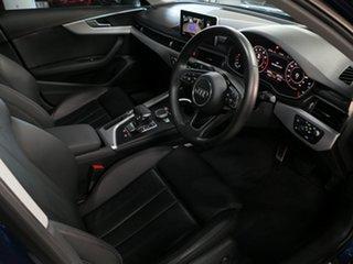 2017 Audi A4 B9 8W MY17 Sport S Tronic Scubabluemetallic 7 Speed Sports Automatic Dual Clutch Sedan