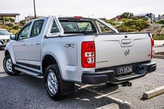 2016 Holden Colorado RG MY16 LS-X Crew Cab Silver 6 Speed Manual Utility.