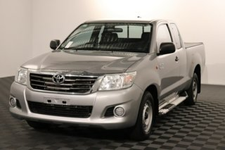 2015 Toyota Hilux GGN15R MY14 SR Xtra Cab 4x2 Silver 5 speed Automatic Utility.