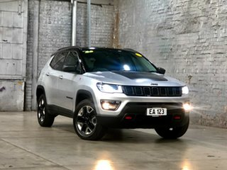 2017 Jeep Compass M6 MY18 Trailhawk Silver 9 Speed Automatic Wagon.