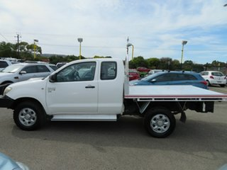 2011 Toyota Hilux KUN26R MY12 SR (4x4) White 5 Speed Manual X Cab Cab Chassis