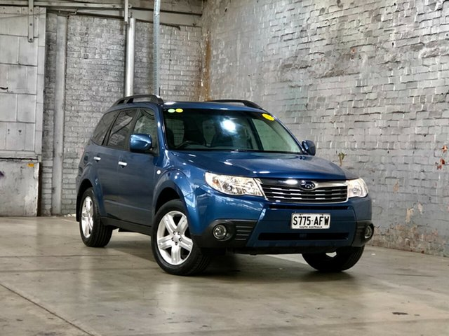 Used Subaru Forester S3 MY10 XS AWD Premium Mile End South, 2010 Subaru Forester S3 MY10 XS AWD Premium Blue 4 Speed Sports Automatic Wagon