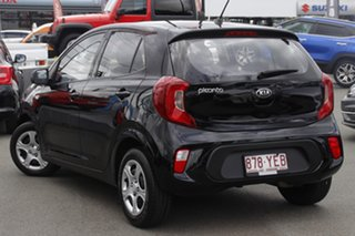 2018 Kia Picanto JA MY19 AO Edition Black 5 Speed Manual Hatchback.