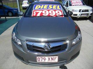 2010 Holden Cruze JG CD Grey 6 Speed Sports Automatic Sedan.