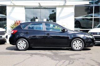 2012 Kia Cerato TD MY12 SI Black 6 Speed Manual Hatchback