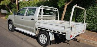 2008 Toyota Hilux KUN26R 07 Upgrade SR (4x4) 5 Speed Manual Dual Cab Pick-up.