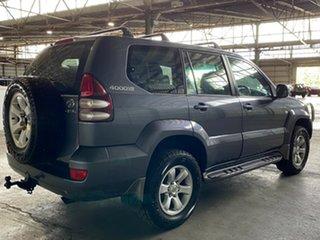 2005 Toyota Landcruiser Prado GRJ120R GXL Grey 5 Speed Automatic Wagon