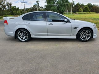2013 Holden Commodore VE Series II SV6 Silver Sports Automatic Sedan.