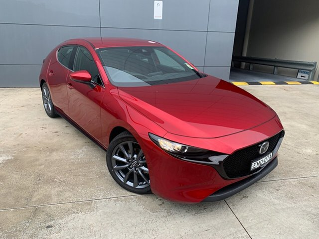 Demo Mazda 3 BP2HLA G25 SKYACTIV-Drive GT Alexandria, 2020 Mazda 3 BP2HLA G25 SKYACTIV-Drive GT Soul Red Crystal 6 Speed Sports Automatic Hatchback