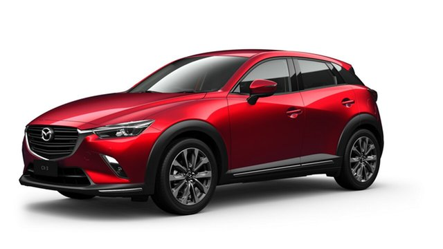 Demo Mazda CX-3 DK2W7A sTouring SKYACTIV-Drive FWD Toowoomba, 2020 Mazda CX-3 DK2W7A sTouring SKYACTIV-Drive FWD Red 6 Speed Sports Automatic Wagon