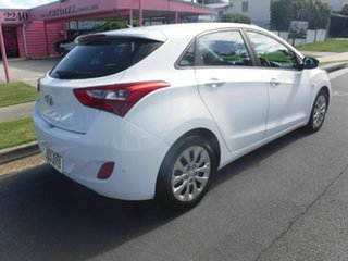 2016 Hyundai i30 GD4 SERIES II Active White 4 Speed Automatic Hatchback.
