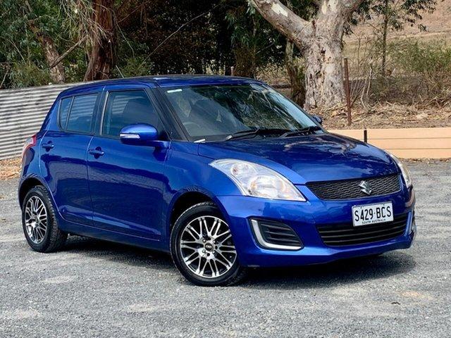Used Suzuki Swift FZ MY14 GL Clare, 2014 Suzuki Swift FZ MY14 GL Blue 5 Speed Manual Hatchback