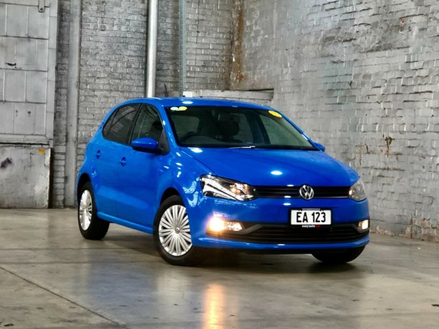 Used Volkswagen Polo 6R MY17 66TSI DSG Trendline Mile End South, 2017 Volkswagen Polo 6R MY17 66TSI DSG Trendline Blue 7 Speed Sports Automatic Dual Clutch Hatchback