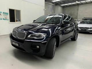 2013 BMW X6 E71 LCI MY1112 xDrive40d Coupe Steptronic Black 8 Speed Sports Automatic Wagon.
