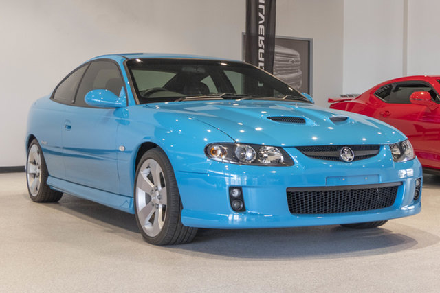 Used Holden Monaro VZ CV8 Bunbury, 2005 Holden Monaro VZ CV8 Turismo Blue 6 Speed Manual Coupe