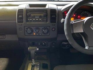 2007 Nissan Navara D40 ST-X Red 5 Speed Automatic Utility