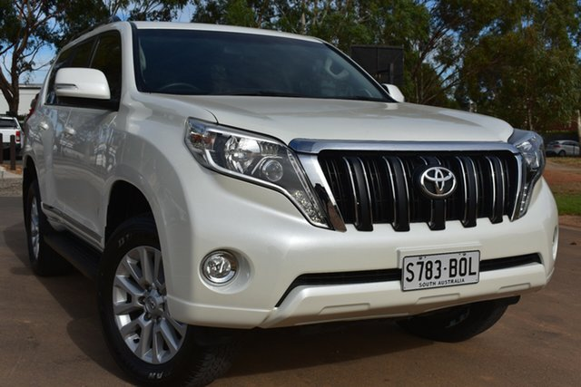 Used Toyota Landcruiser Prado GDJ150R Altitude St Marys, 2017 Toyota Landcruiser Prado GDJ150R Altitude White 6 Speed Sports Automatic Wagon