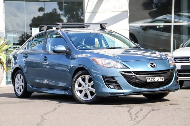 Used Mazda 3 BL10F1 Maxx Activematic Sport Sutherland, 2010 Mazda 3 BL10F1 Maxx Activematic Sport Blue 5 Speed Sports Automatic Sedan