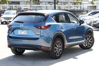 2019 Mazda CX-5 KF4WLA GT SKYACTIV-Drive i-ACTIV AWD Blue 6 Speed Sports Automatic Wagon.