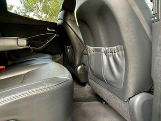 2017 Hyundai Santa Fe DM5 MY18 Active X 2WD Platnium Silver/blac 6 Speed Sports Automatic Wagon