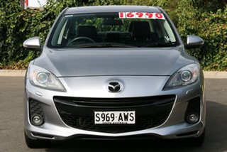 2013 Mazda 3 BL10L2 MY13 SP25 Activematic Liquid Silver 5 Speed Sports Automatic Sedan