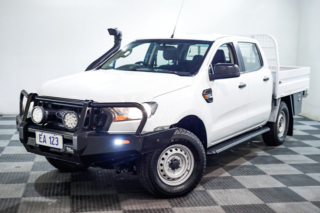 Used Ford Ranger PX MkII XL Edgewater, 2017 Ford Ranger PX MkII XL White 6 Speed Sports Automatic Utility