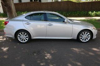 2009 Lexus IS GSE20R MY10 IS250 Sports Luxury Silver 6 Speed Sports Automatic Sedan