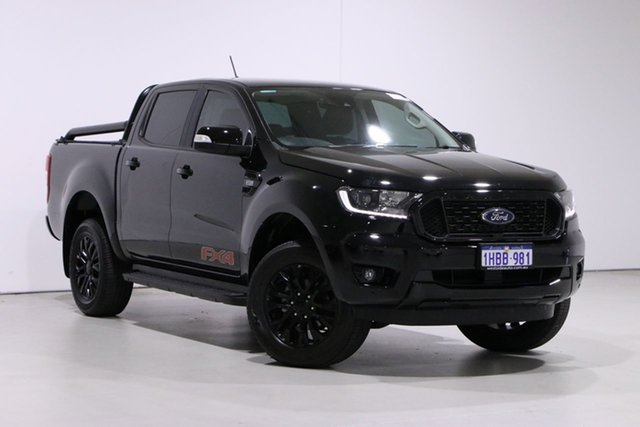 Used Ford Ranger PX MkIII MY20.25 FX4 3.2 (4x4) Bentley, 2020 Ford Ranger PX MkIII MY20.25 FX4 3.2 (4x4) Black 6 Speed Automatic Double Cab Pick Up