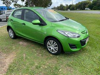 2010 Mazda 2 DE10Y1 MY10 Neo Green 5 Speed Manual Hatchback