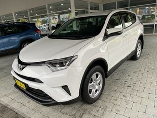 2016 Toyota RAV4 GX White Constant Variable Wagon.