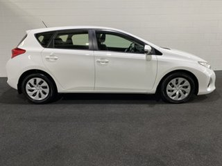 2014 Toyota Corolla ZRE182R Ascent S-CVT White 7 Speed Constant Variable Hatchback.
