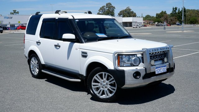 Used Land Rover Discovery 4 Series 4 MY12 SDV6 CommandShift SE Maddington, 2012 Land Rover Discovery 4 Series 4 MY12 SDV6 CommandShift SE White 6 Speed Sports Automatic Wagon