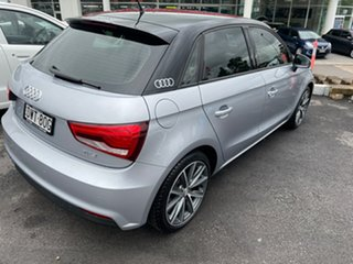 2018 Audi A1 8X MY18 Sport Sportback S Tronic Silver 7 Speed Sports Automatic Dual Clutch Hatchback.