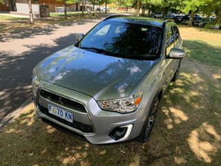 2016 Mitsubishi ASX XB MY15.5 LS 2WD Light Grey 6 Speed Constant Variable Wagon