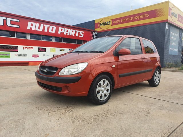 Used Hyundai Getz TB MY09 SX Morphett Vale, 2009 Hyundai Getz TB MY09 SX Burnt Amber 5 Speed Manual Hatchback