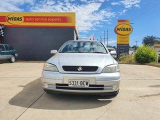 2002 Holden Astra TS City Silver 5 Speed Manual Sedan.