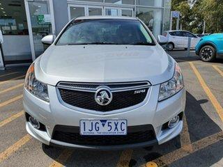 2012 Holden Cruze JH Series II MY12 SRi Silver 6 Speed Sports Automatic Sedan.